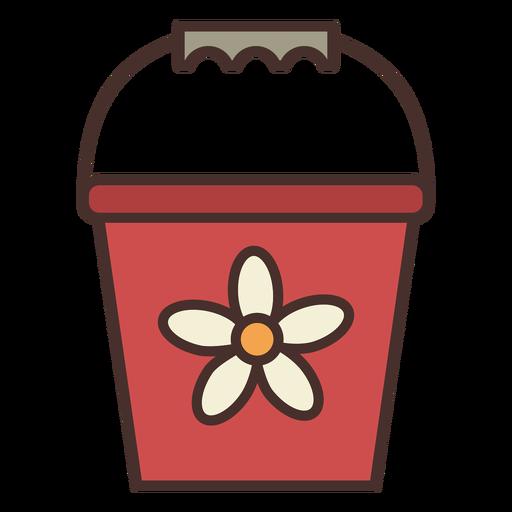 Icono de cubo de granja