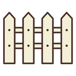 Bauernhof Zaun Symbol Zaun
