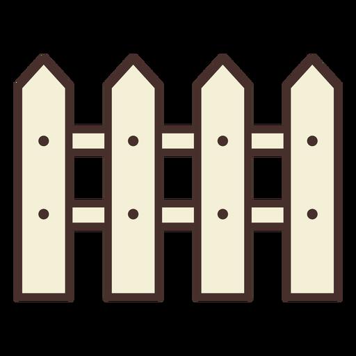 Valla de icono de cerca de granja