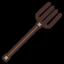 Tenedor de granja icono tenedor