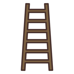 Farm ladder icon
