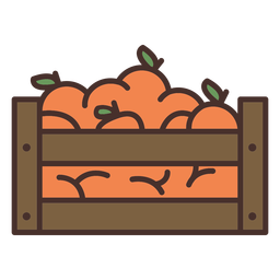 Farm oranges icon