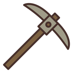 Farm pickaxe icon pickaxe