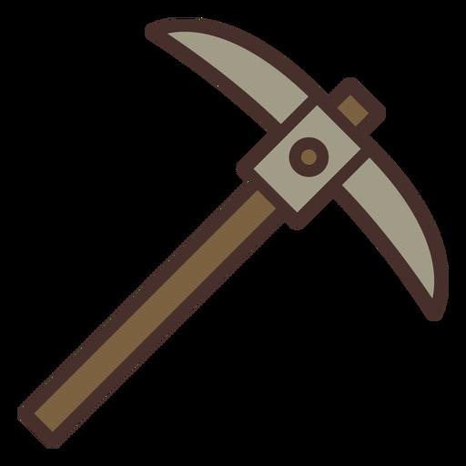 Farm pickaxe icon pickaxe