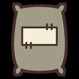 Bauernhof Sack Symbol Sack