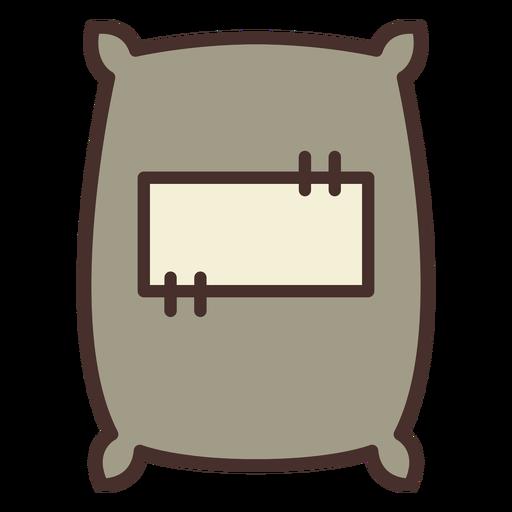 Farm sack icon sack