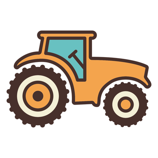 Farm tractor icon tractor Transparent PNG