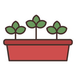 Icono de jarrón de granja