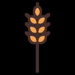 Icono de trigo de granja trigo