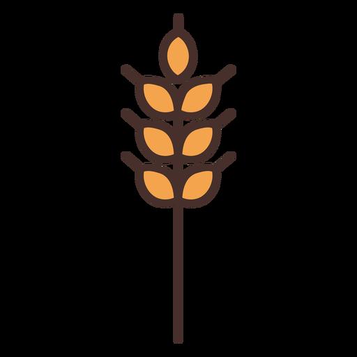 Trigo de icono de trigo de granja