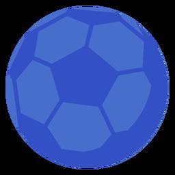 Bola de futebol plana