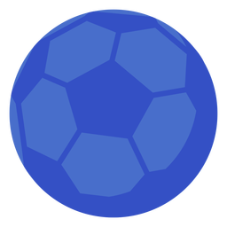 Pelota de futbol plana