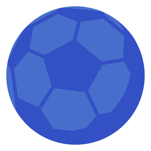 Pelota de futbol plana Transparent PNG