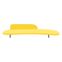 Furniture pop art bench flat bench