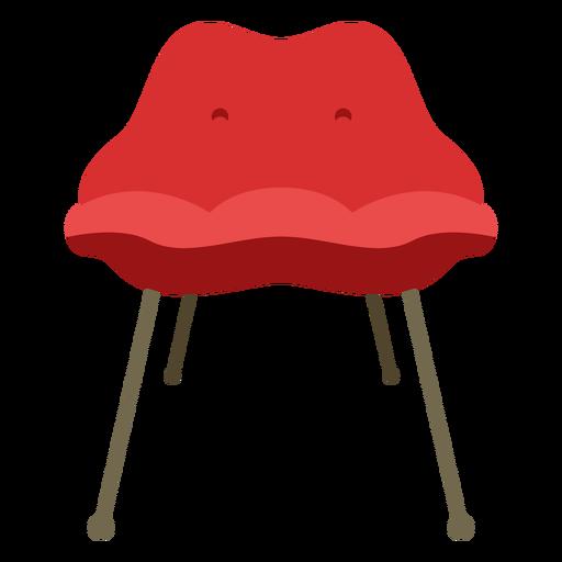 Muebles silla pop art simple plana