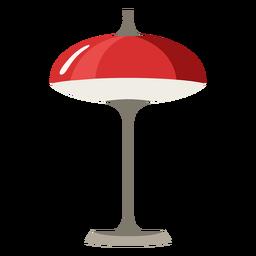 Lámpara de noche de arte pop de muebles plana