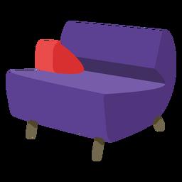 Muebles pop art sofá conos planos