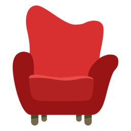 Muebles pop art sofa single flat