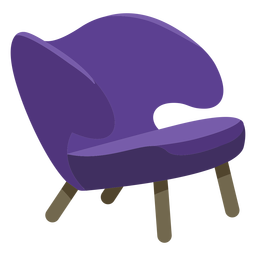 Muebles pop art sofa brazos simples planos