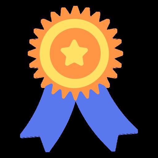 Emblema de graduação plano