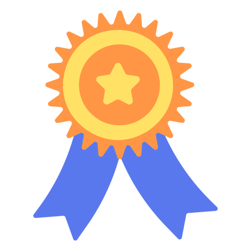 Graduation badge flat