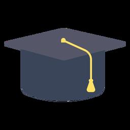Casquillo de graduación casquillo plano