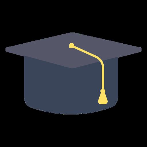 Gorra de graduación gorra plana