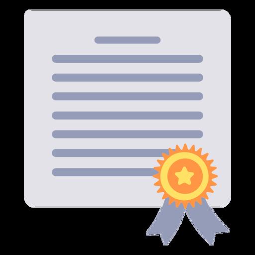 Graduation certificate flat certificate