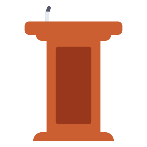 Graduation podium flat