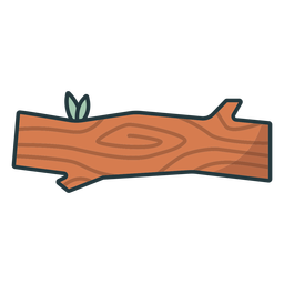 Lumberjack log icon