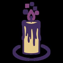Ícone de vela mágica