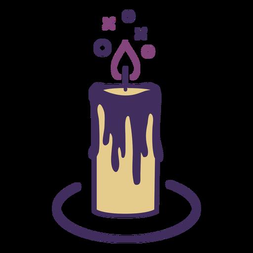 Magic candle icon