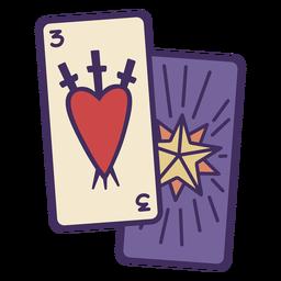 Icono de cartas mágicas