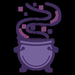 Magic cauldron icon