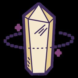 Icono de cristal mágico