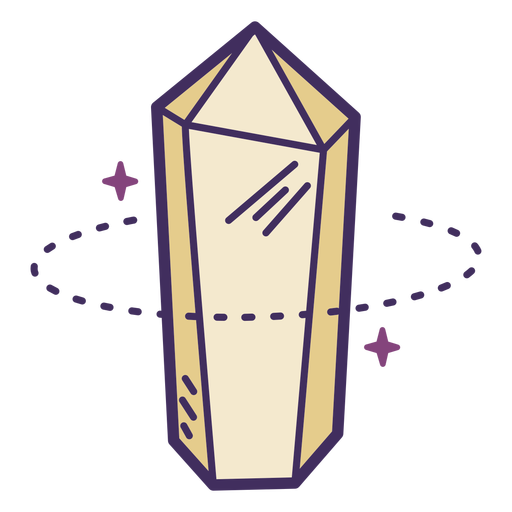 Magic crystal icon