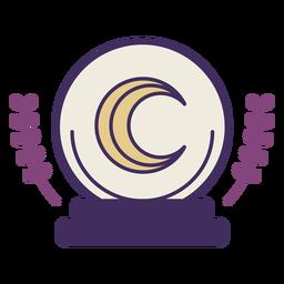 Icono de bola de cristal mágica