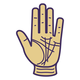 Magic hand glove icon