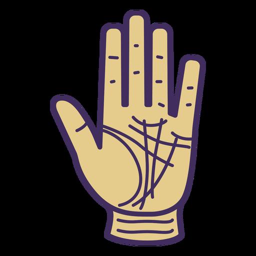 Icono de guante de mano mágica