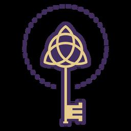 Icono de llave mágica