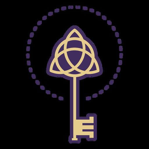 Icono de llave mágica Transparent PNG