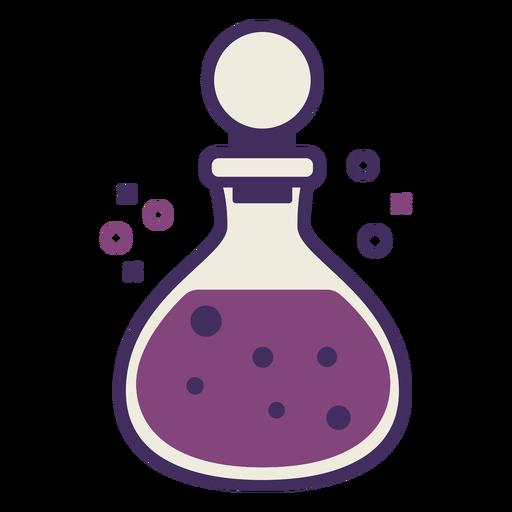 Magic potion bottle icon