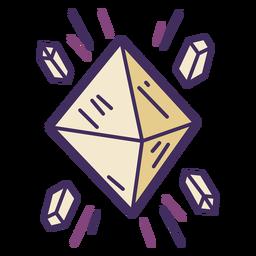 Icono de cuarzo mágico