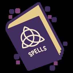 Icono de libro de hechizos mágicos