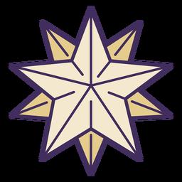 Icono de estrella mágica