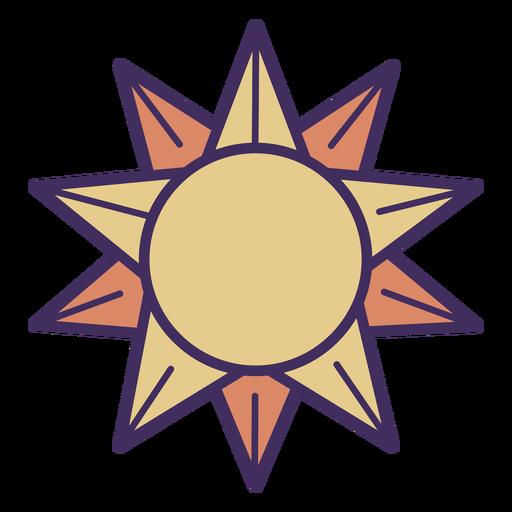 Icono de sol mágico