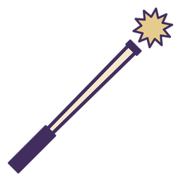 Magic wand icon wand