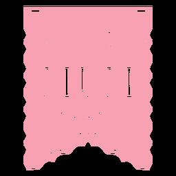 Papel picado ribbon best mum ever flat