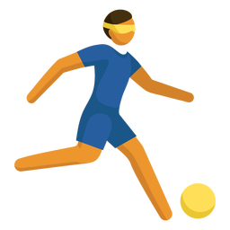 Paralympic sport pictogram football flat