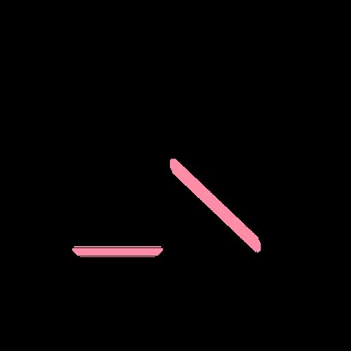Golpe de caballo polígono Transparent PNG